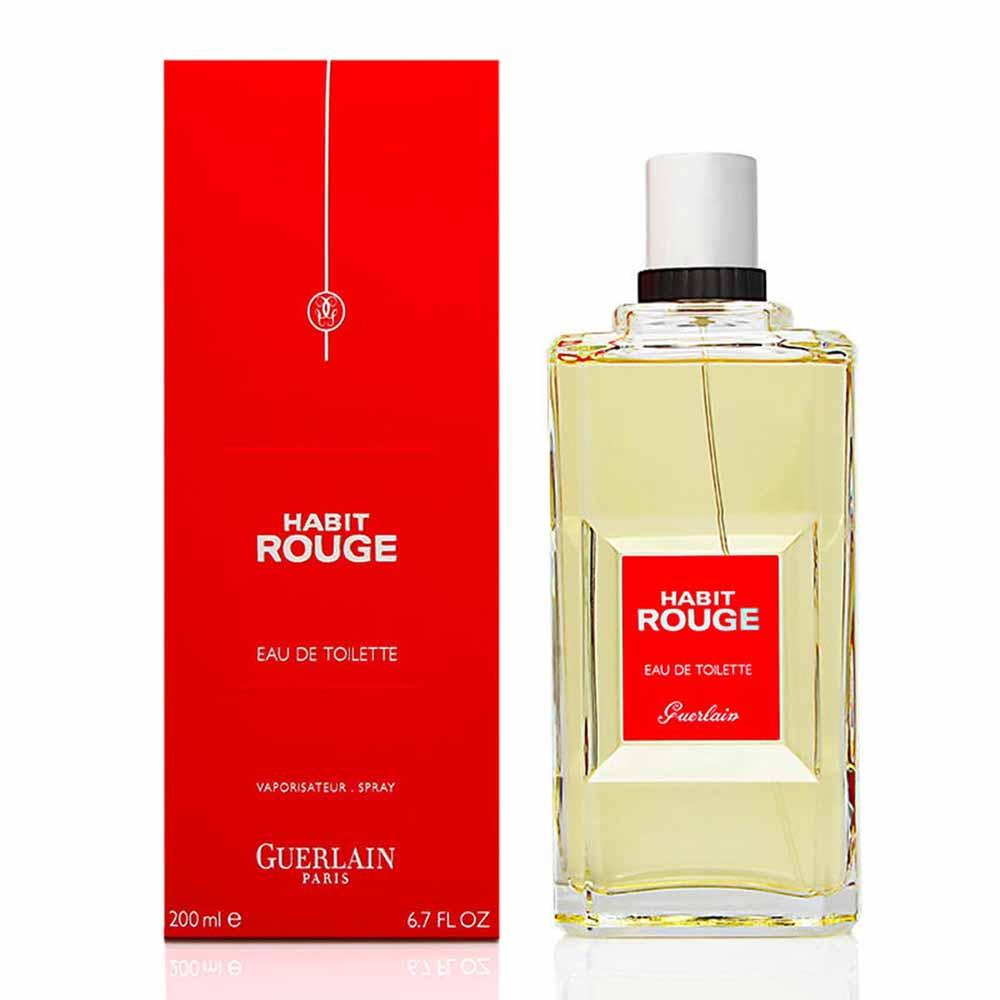 Guerlain Habit Rouge Eau De Toilette 200ml Dressinn Herenparfum