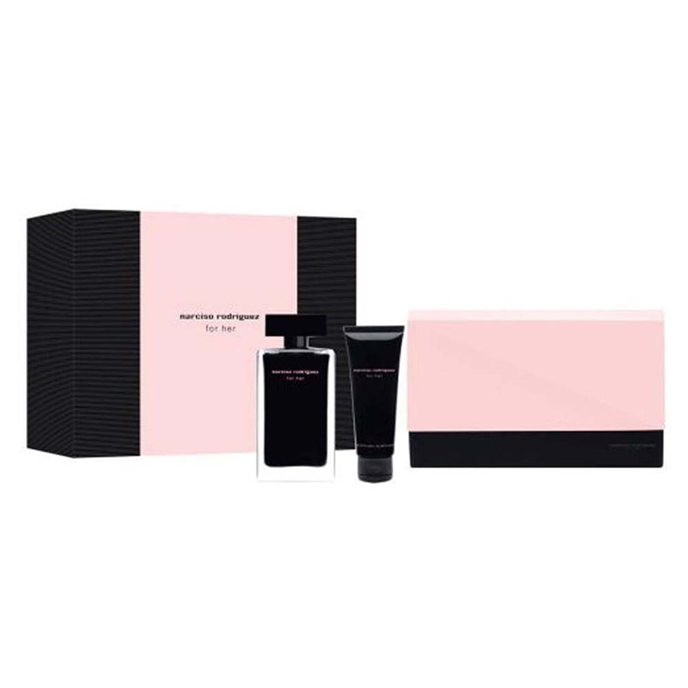 Narciso rodriguez For Her Eau De Toilette 100 ml Body 75 ml Dressing Case