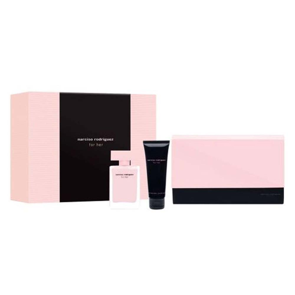 Narciso rodriguez For Her Eau De Parfum 50 ml Body Lotion 75 ml Dressing Case