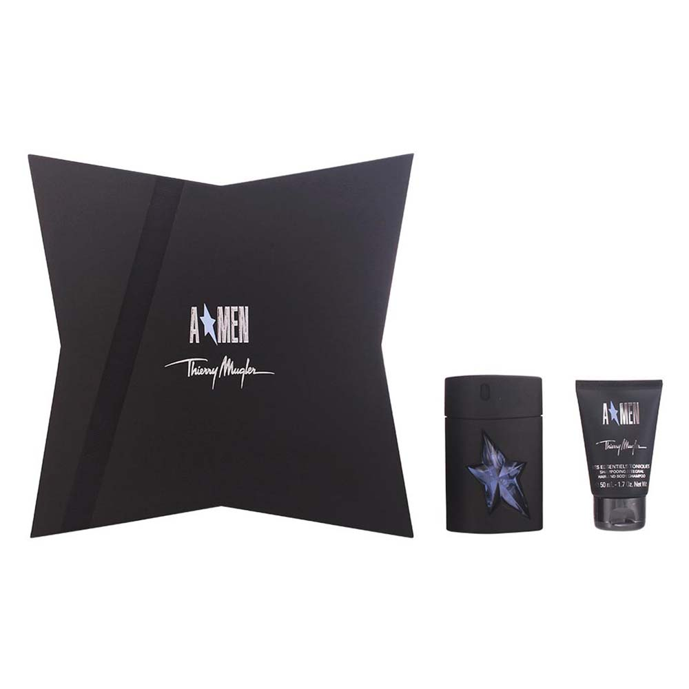 Thierry mugler fragrances Amen Eau De Toilette 50ml Refillable Integral Shampoo 50ml