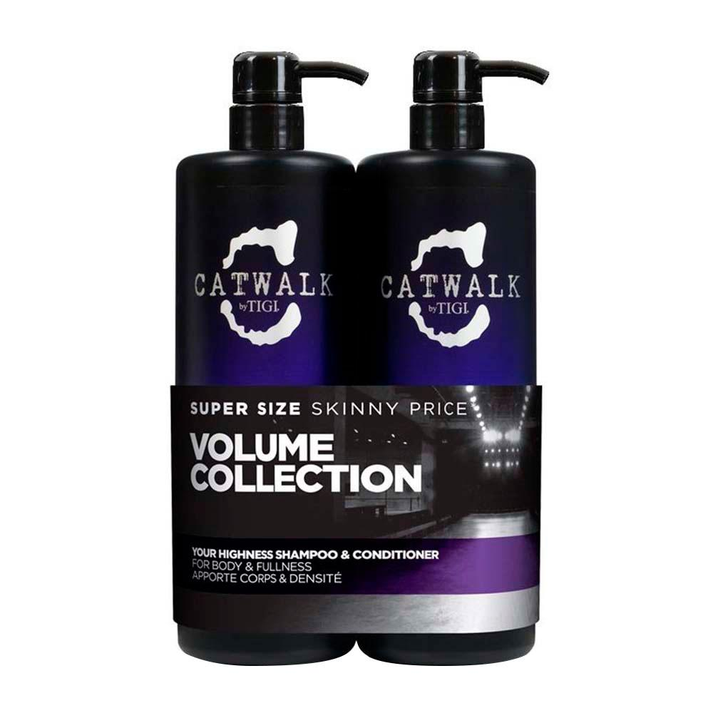 Tigi fragrances Catwalk Volume Collection Your Highness Shampoo 750ml Conditioner 750ml