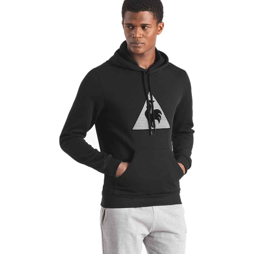 Le coq sportif Geo Jacquard Pullover Hood