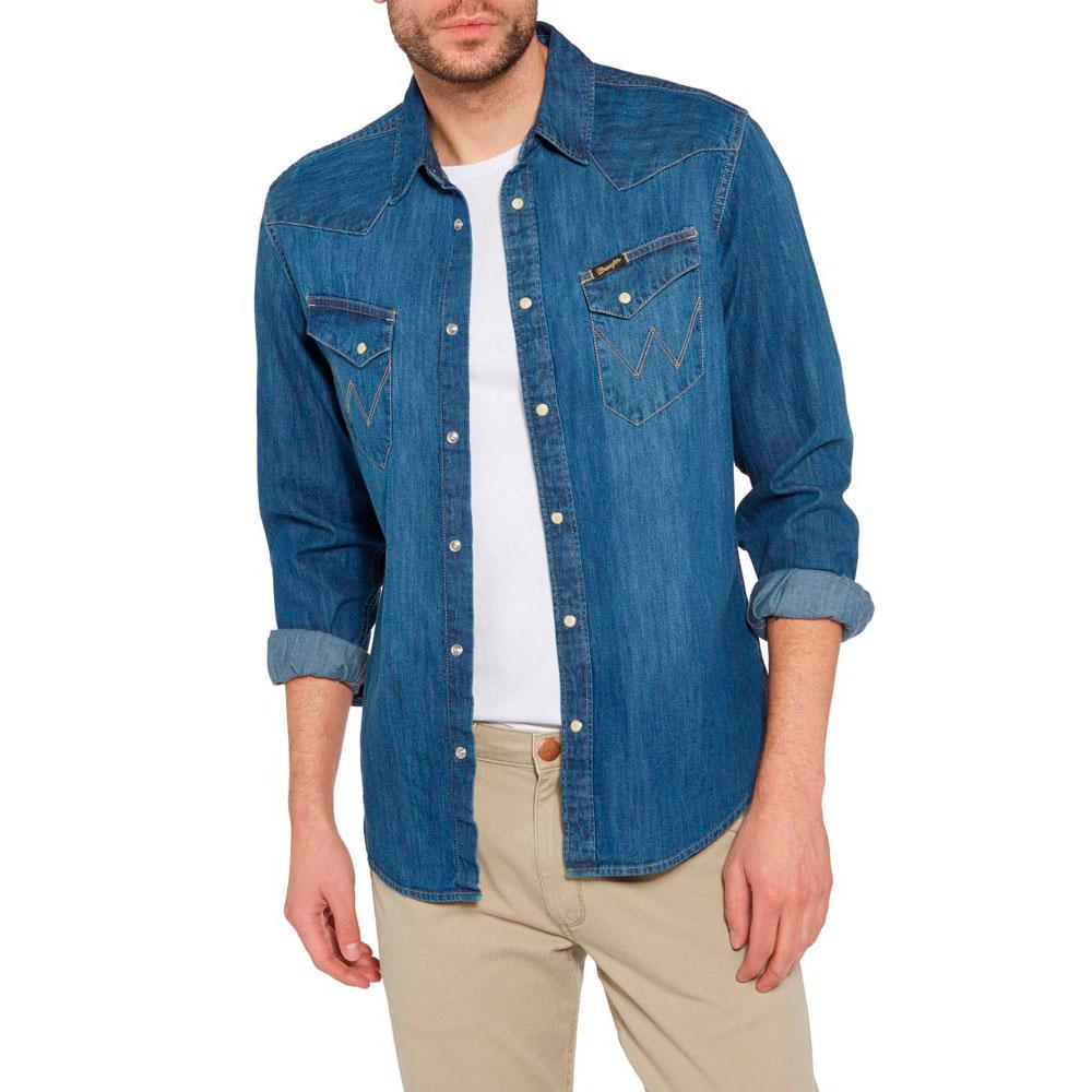 Wrangler Ls City Western Shirt