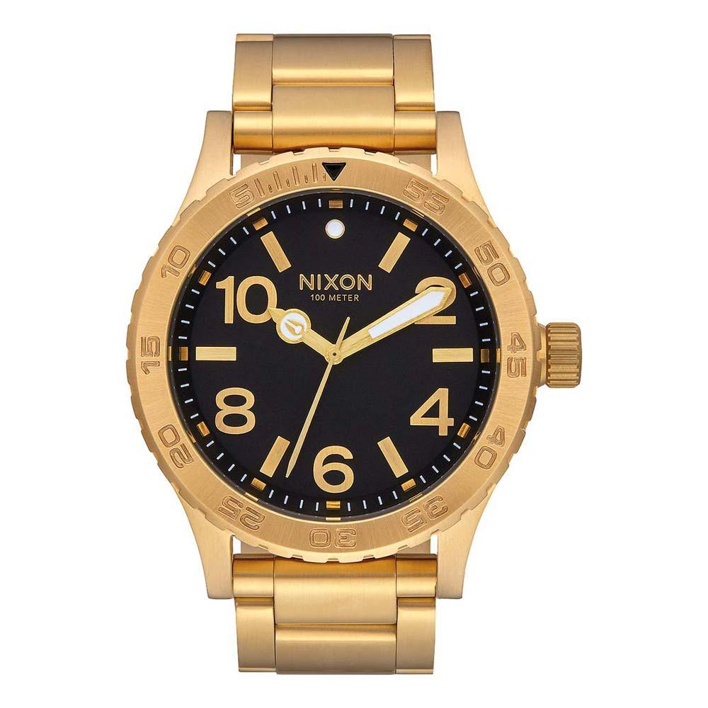 Relógios Nixon 46 One Size All Gold / Black