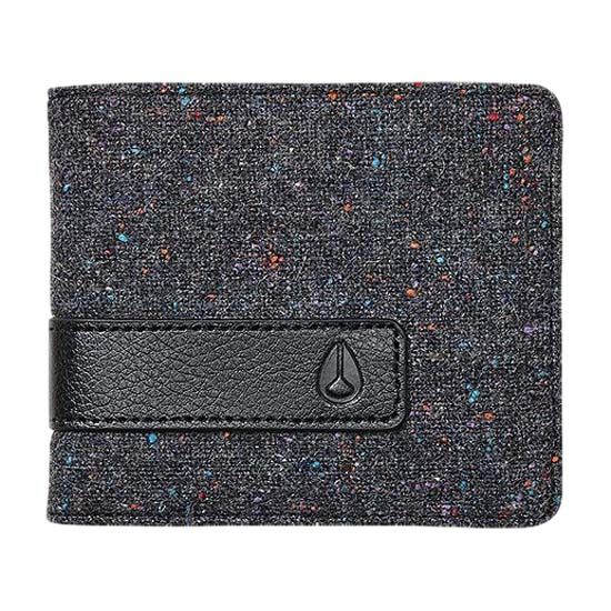 Nixon Showdown Bi Fold Zip Wallet