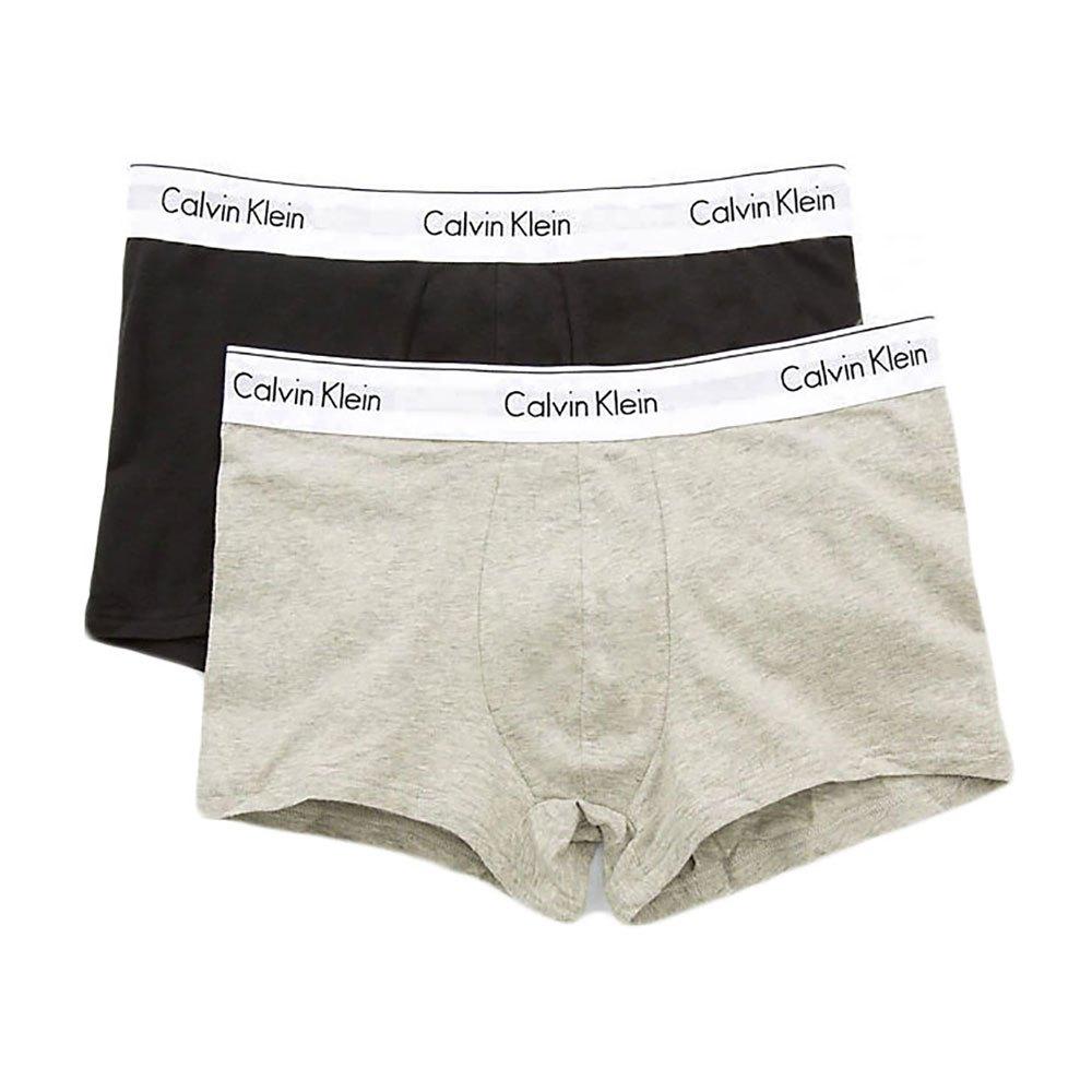 7466453f165 Calvin klein Trunk 2 Pack Black buy and offers on Dressinn