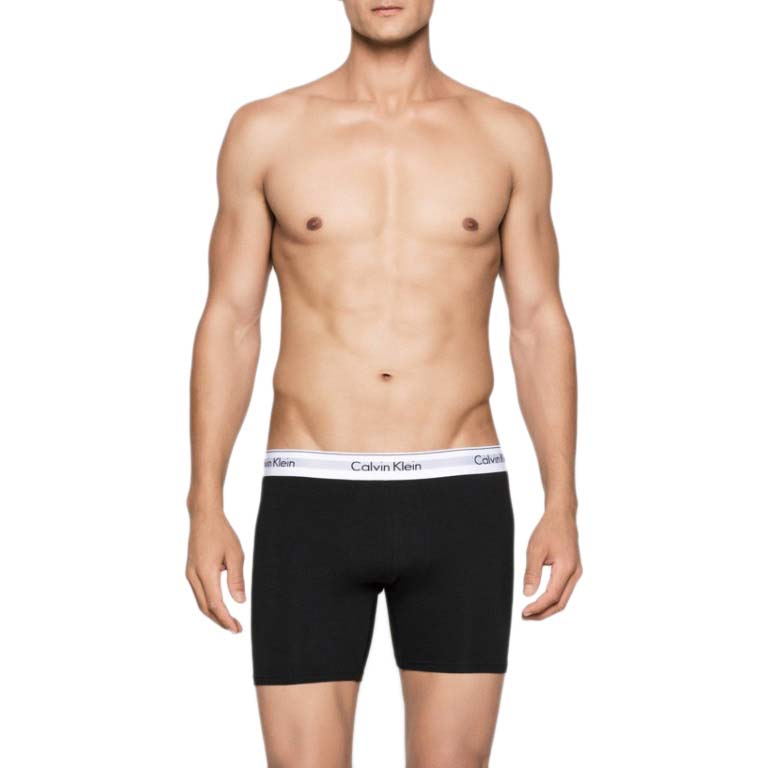 Calvin klein Boxer Brief 2 Pack Black buy and offers on Dressinn 2444ff85650