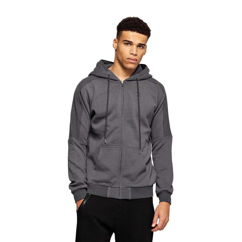 bfd6ffd4178 Onepiece Slow Zip Hoodie Grey buy and offers on Dressinn