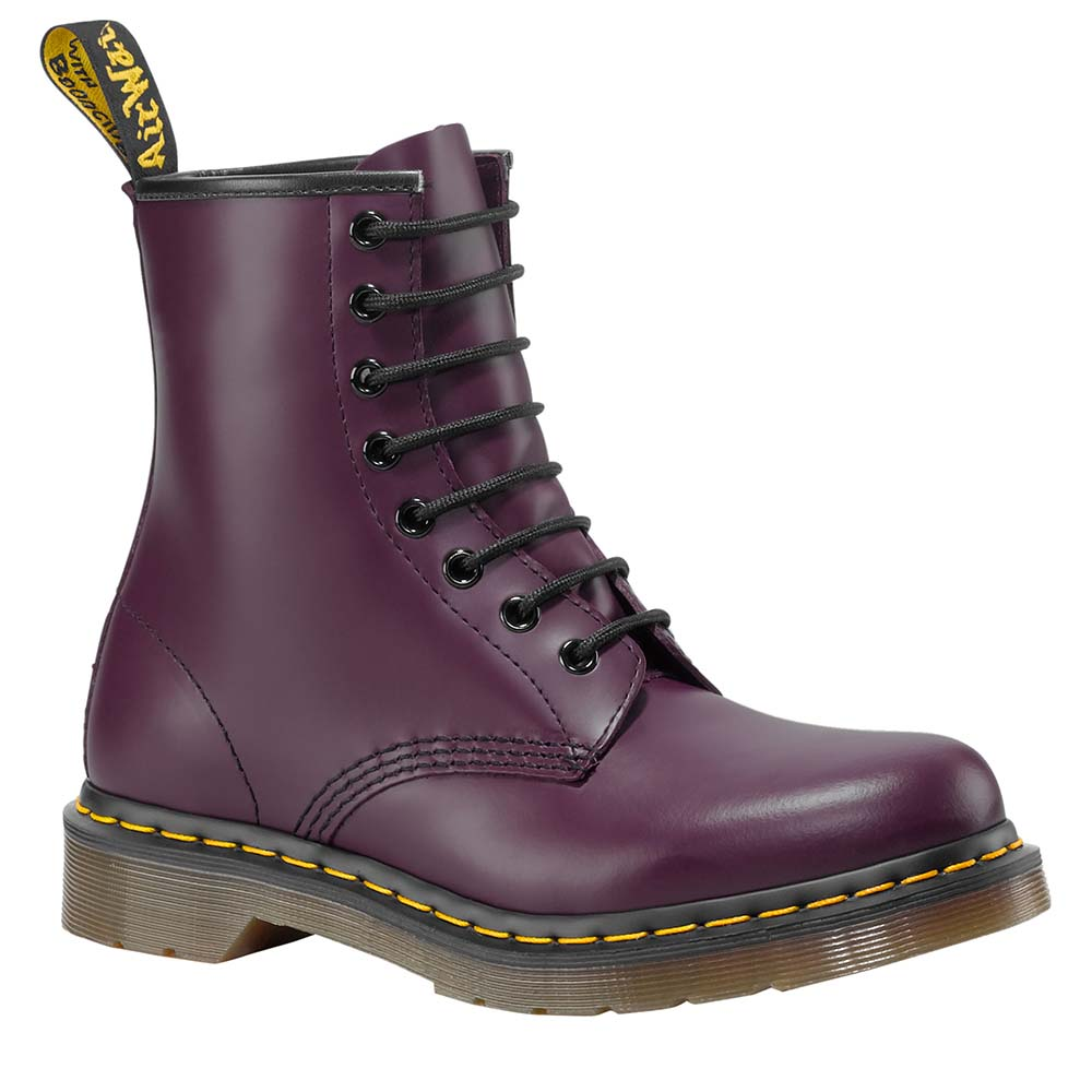 e3fef246a Dr martens 1460 W 8 Eye Smooth Фиолетовый, Dressinn Cапоги и ботинки