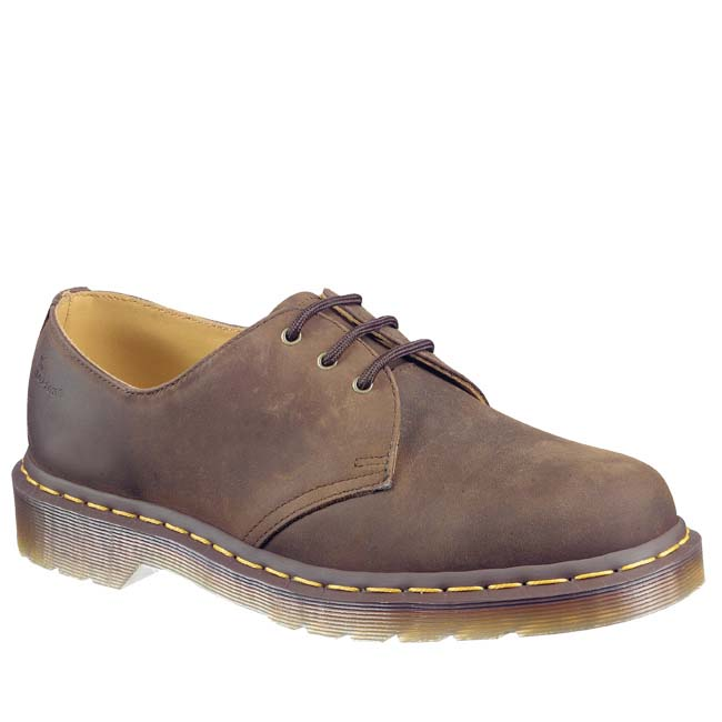 many fashionable incredible prices release date Dr martens 1461 3 Eye Gibson Crazy Horse