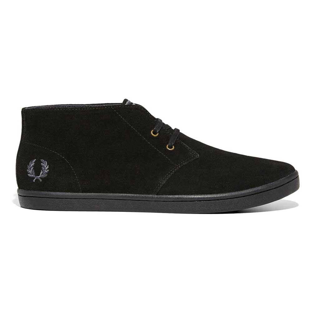 Fred Perry Byron Mid Suede Dark