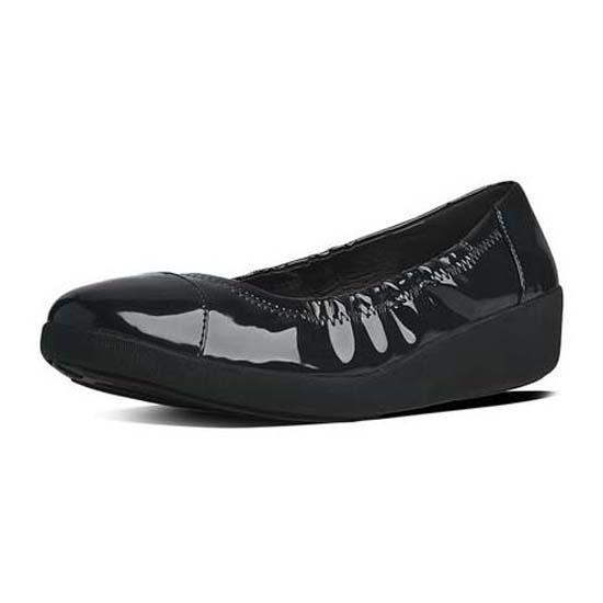 fitflop ballerina black