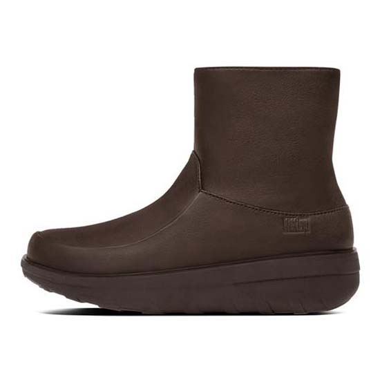 5d52e7d69 Fitflop Loaff Shorty Zip Boot Brown buy and offers on Dressinn