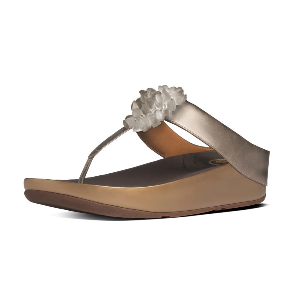 ddf6a30f199 Fitflop Blossom Golden buy and offers on Dressinn