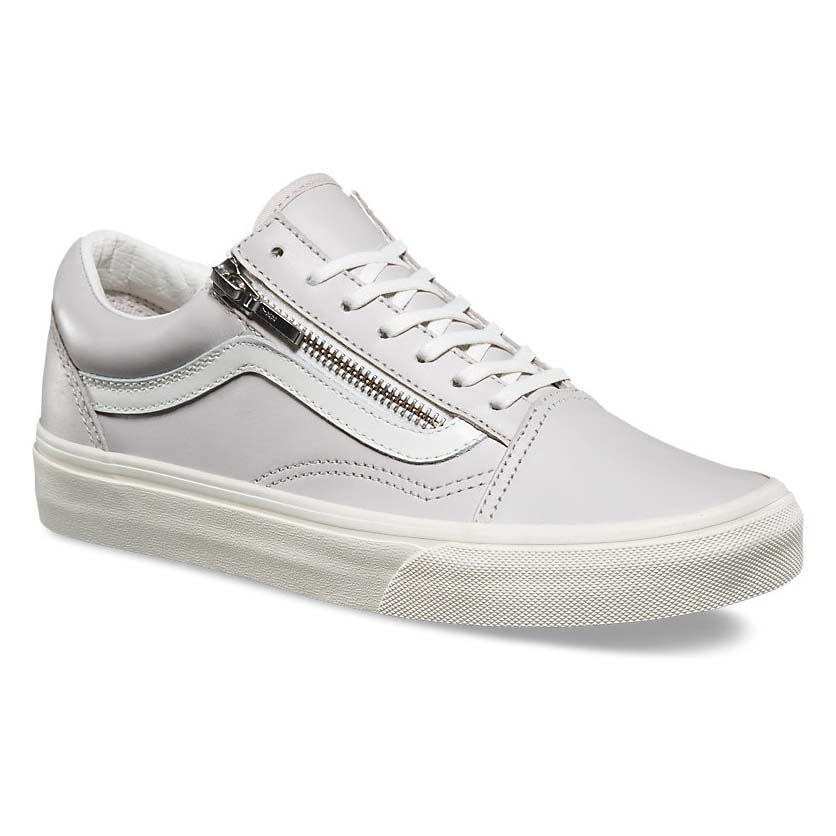 Vans Ua Old Skool Zip White buy and offers on Dressinn d170081b4bd0