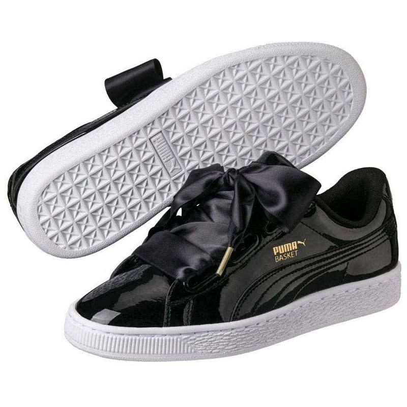 2734027873a7ea Puma select Basket Heart Patent Black buy and offers on Dressinn