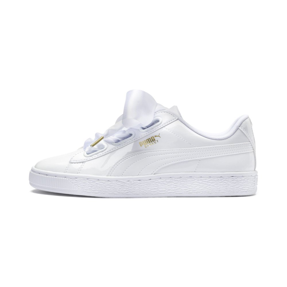 basket heart puma noir