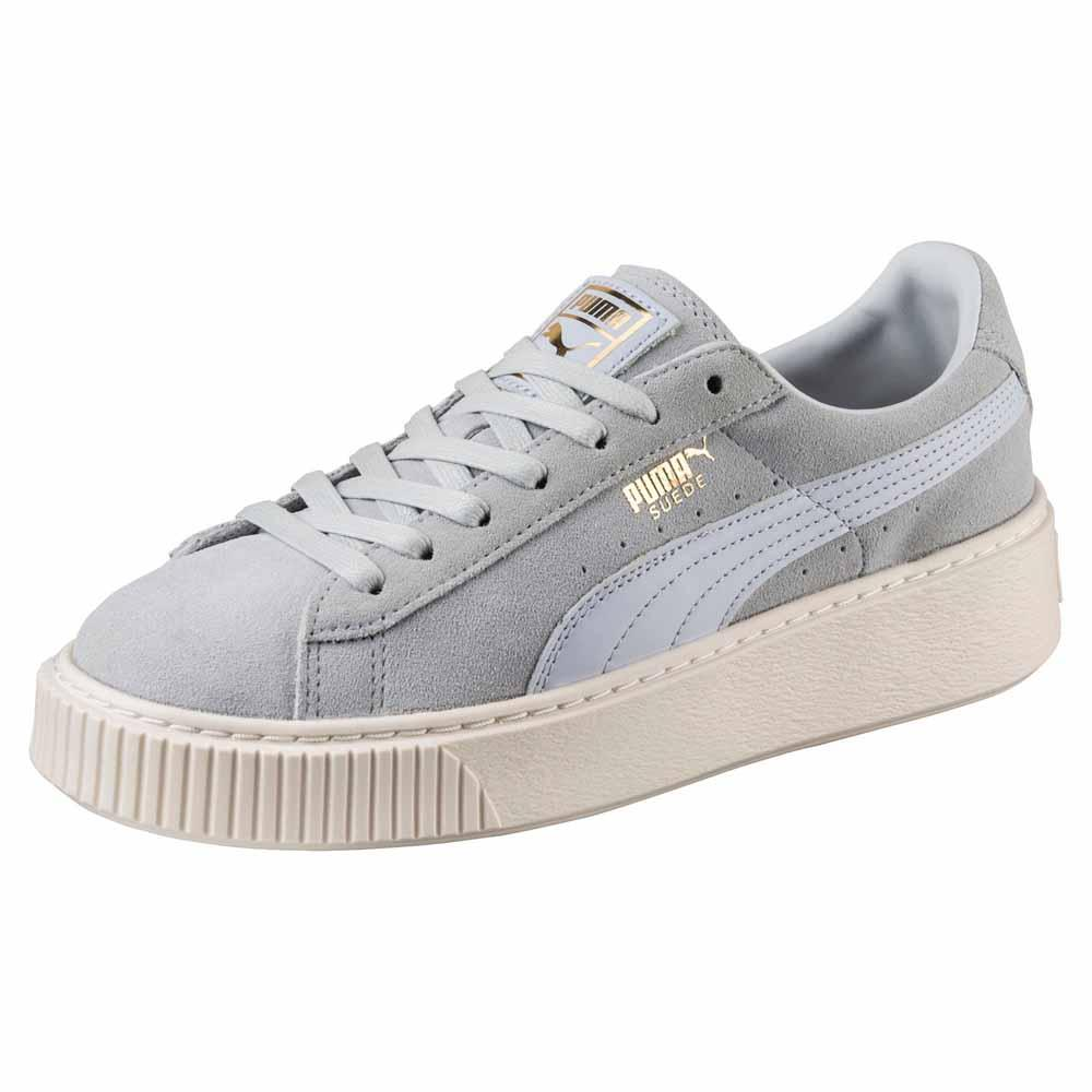 Puma Suede Platform Core Grey buy and offers on Dressinn