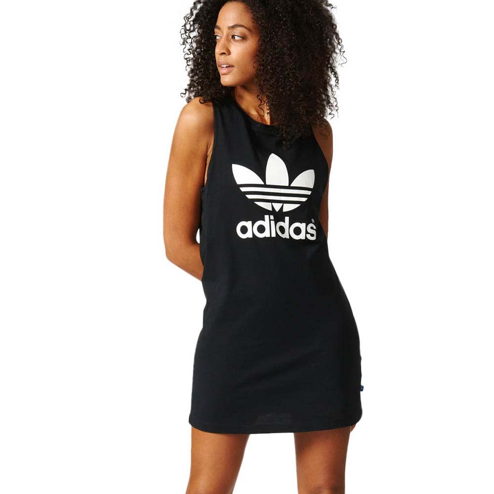 694ffb8b55d57 adidas originals Trefoil Tank Dress buy and offers on Dressinn