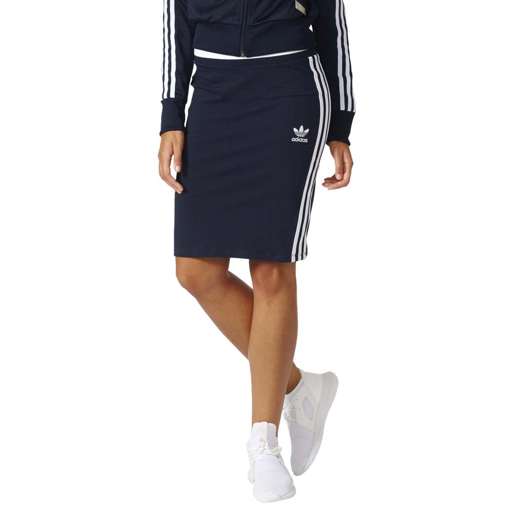 f732f0b0144fe adidas originals 3 Stripes Midi Skirt buy and offers on Dressinn