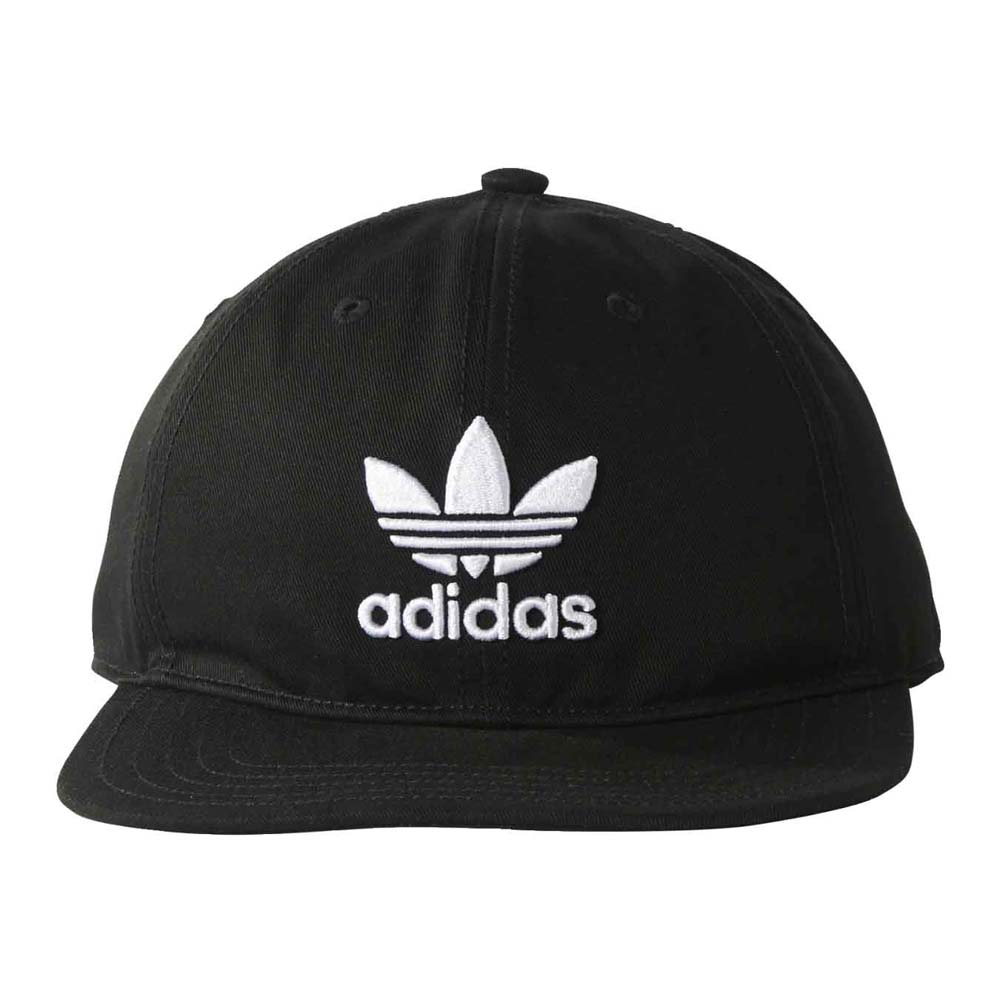 adidas originals Trefoil Cap Black buy and offers on Dressinn bc7776a6992a