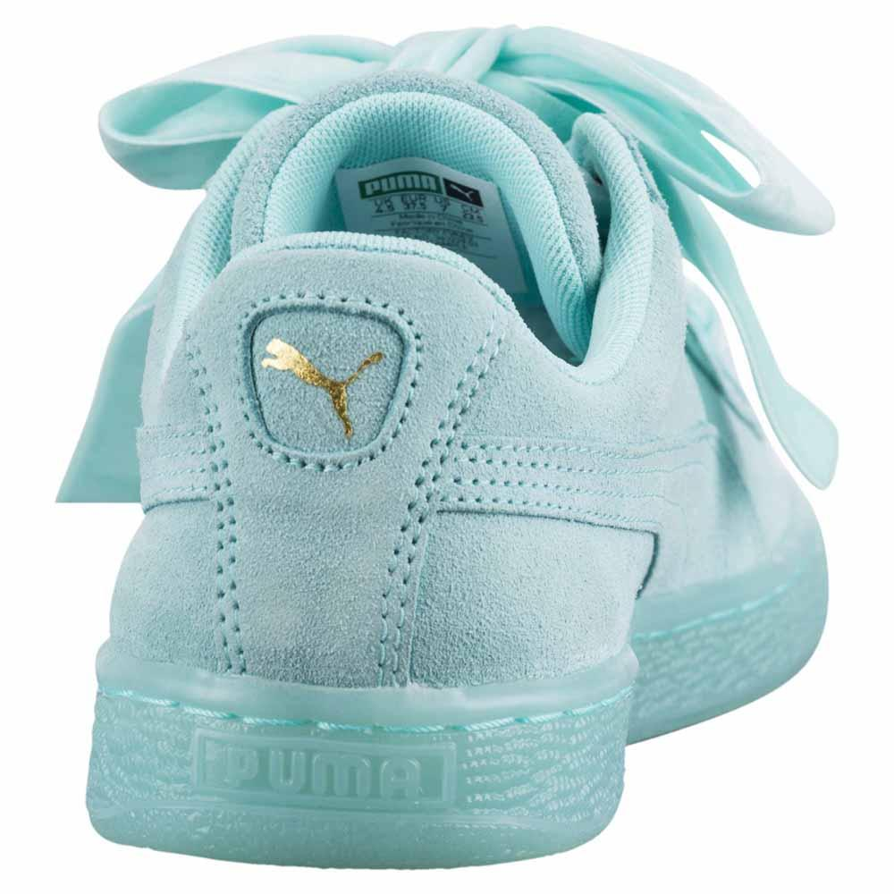 a6de2b078c703 Puma Suede Heart Reset Blue buy and offers on Dressinn
