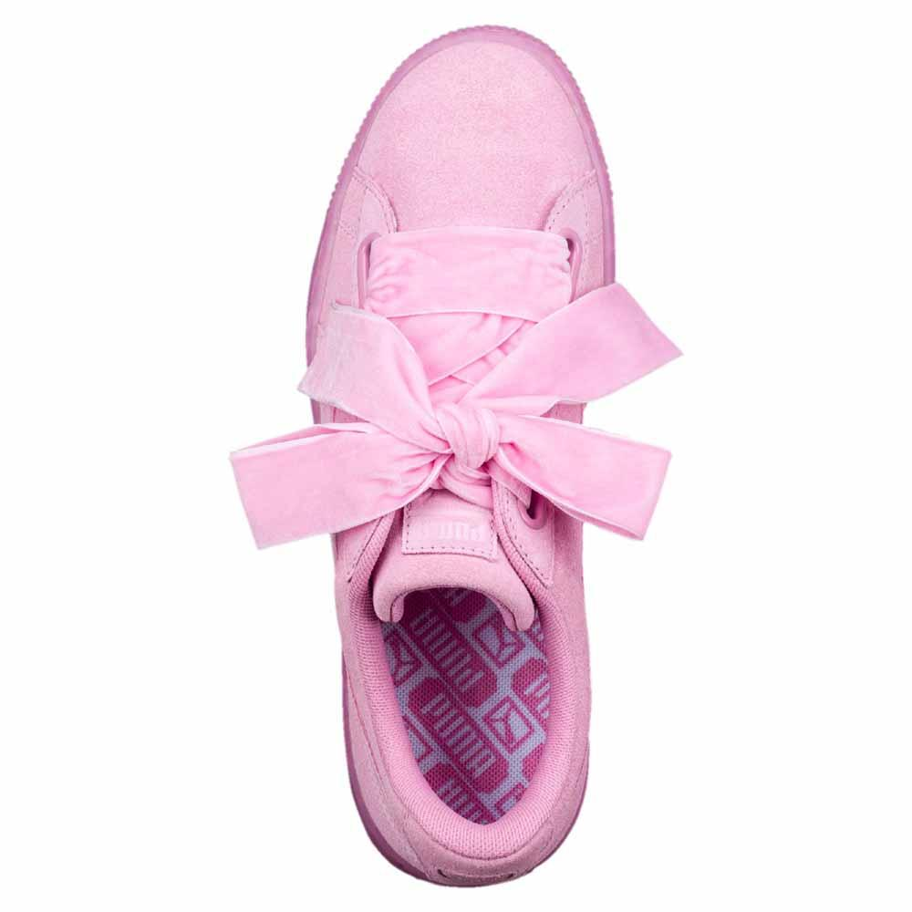 e4ed0a5e01a7 Puma Suede Heart Reset Pink buy and offers on Dressinn