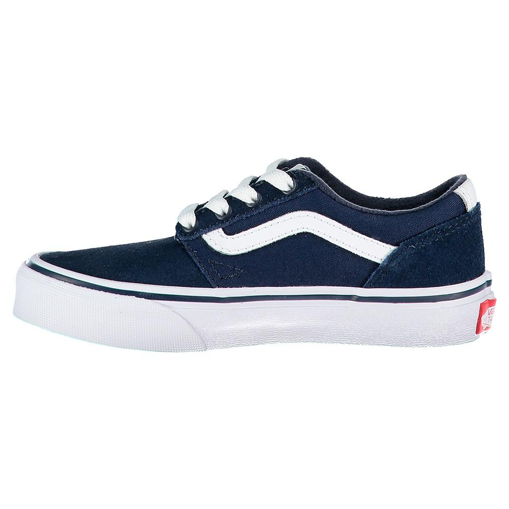 vans chapman stripe blue buy and offers on dressinn. Black Bedroom Furniture Sets. Home Design Ideas
