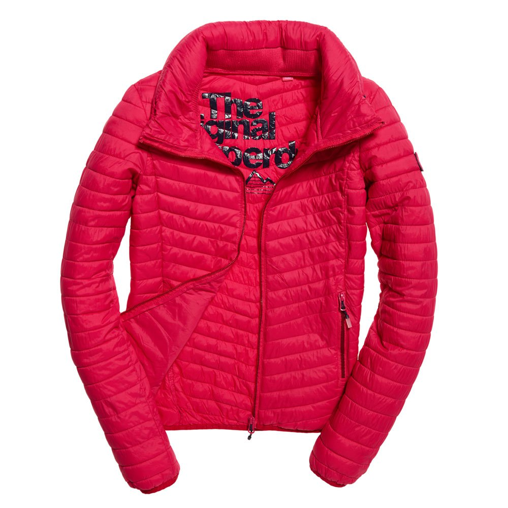 61c82e25db Superdry Vintage Fuji Jacket Pink buy and offers on Dressinn