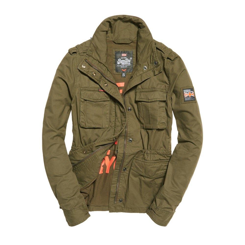 Jacket Rookie Classic Verde Dressinn Military Superdry qT6wt4t