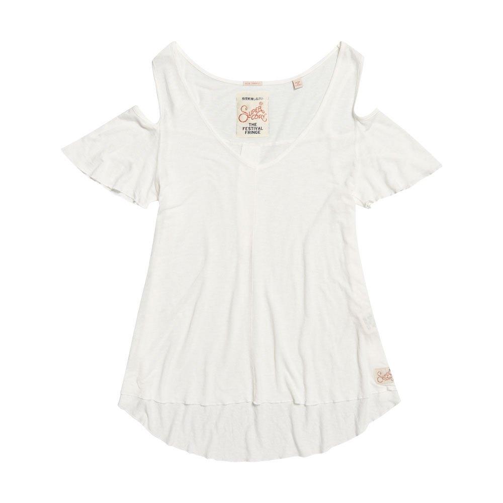 42618e159c0 Superdry Boho Off Shoulder Top White buy and offers on Dressinn