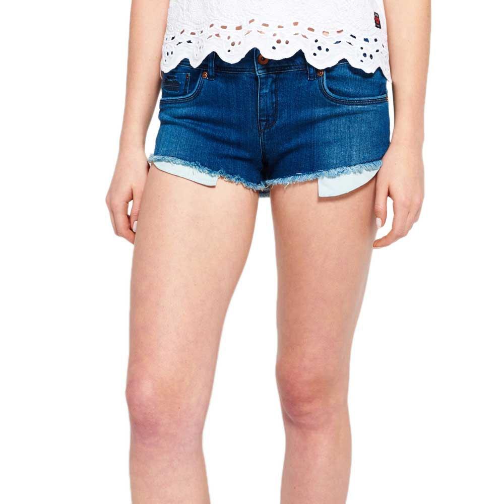 Superdry Core Hot Short Azul comprar y ofertas en Dressinn
