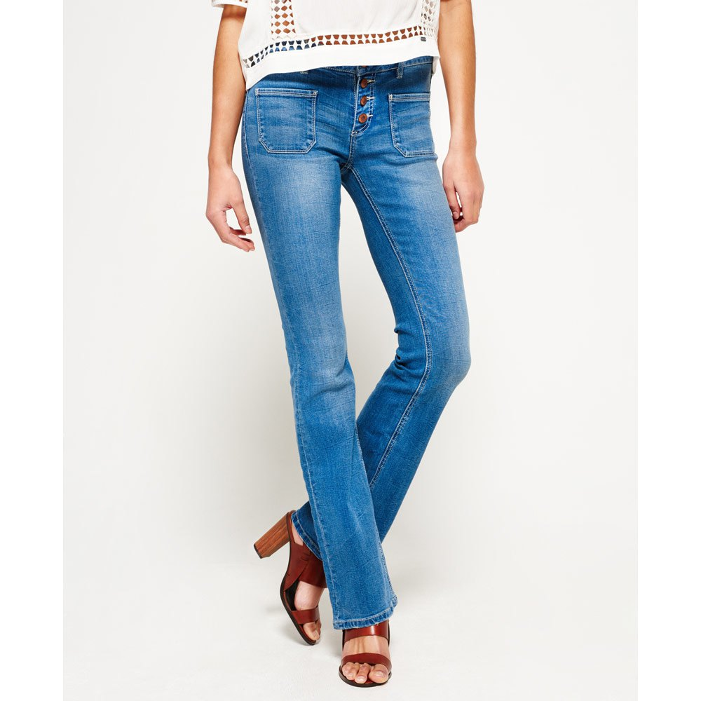 e6839b92ef19b Superdry Zadie Flare L32 Authentic Mid buy and offers on Dressinn