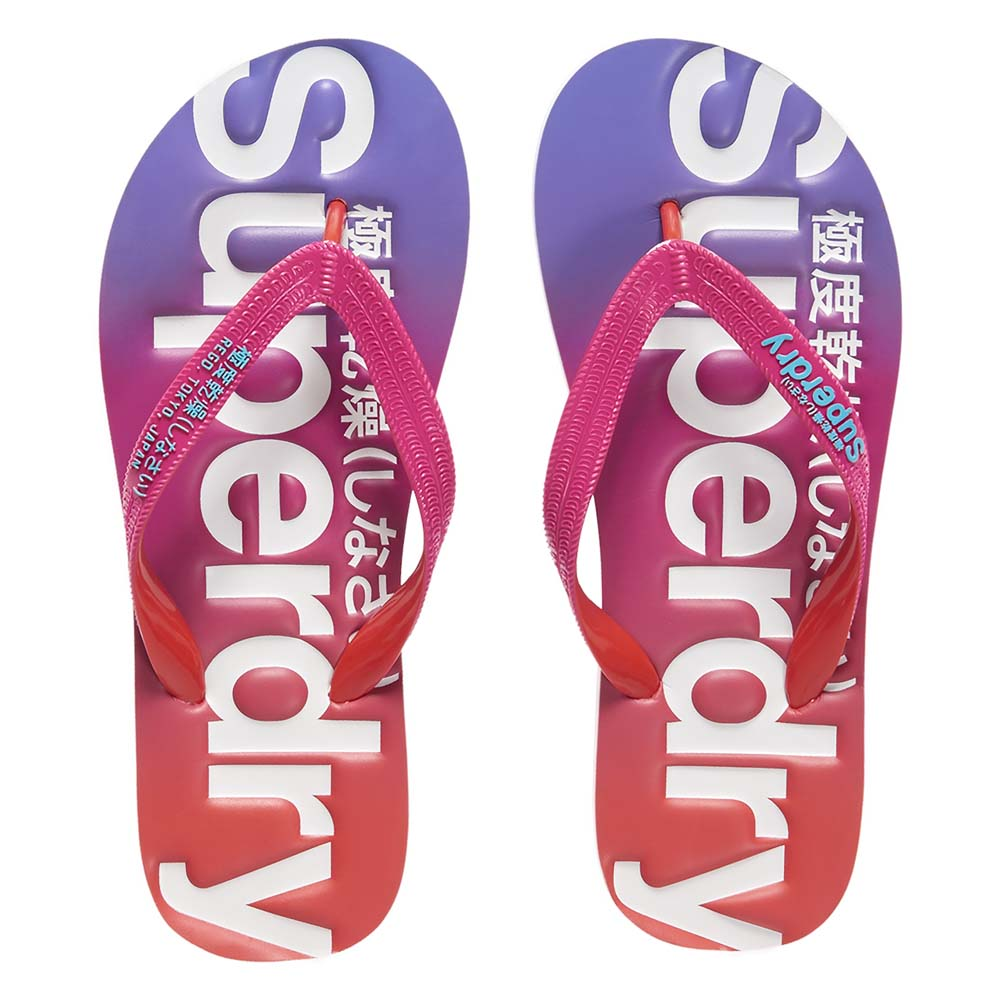 1983a1a285c6 Superdry Faded Flip Flop Pink buy and offers on Dressinn