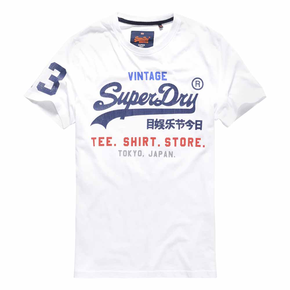 c650f2f9 Superdry Shirt Shop Tee White buy and offers on Dressinn