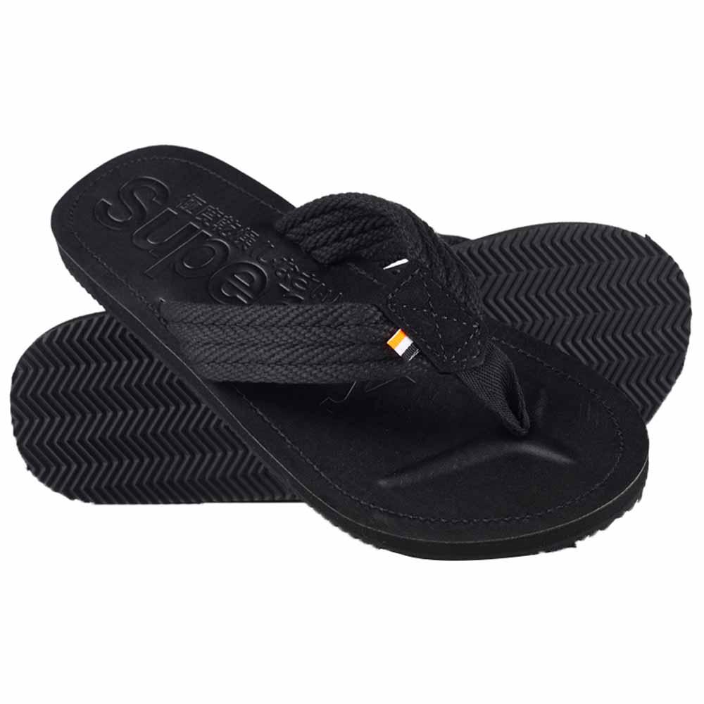 Superdry Cove Flip Flops Black 34A