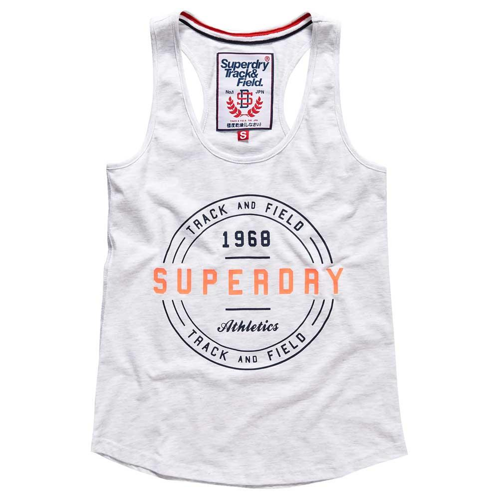 3a6654c1 Superdry Track & Field Vest Grey buy and offers on Dressinn