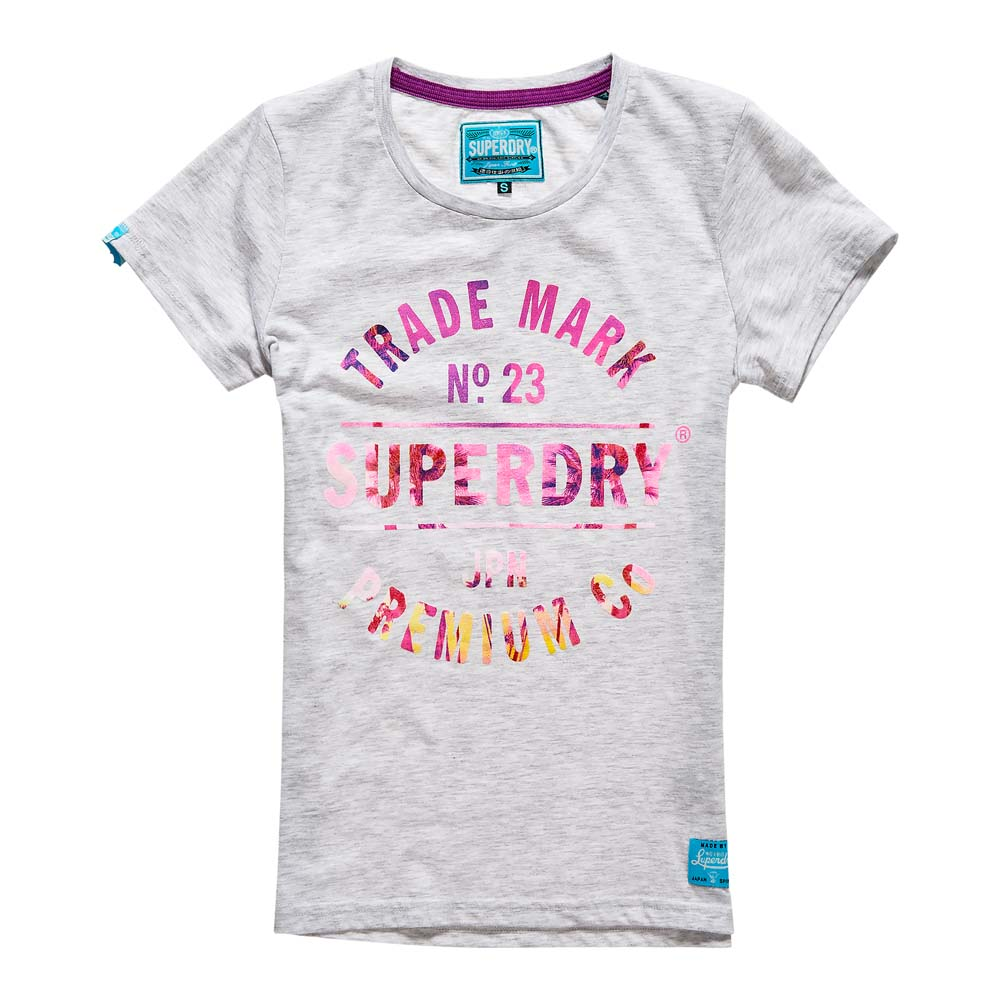 db85322a Superdry Trademark No 23 Tee Grey buy and offers on Dressinn