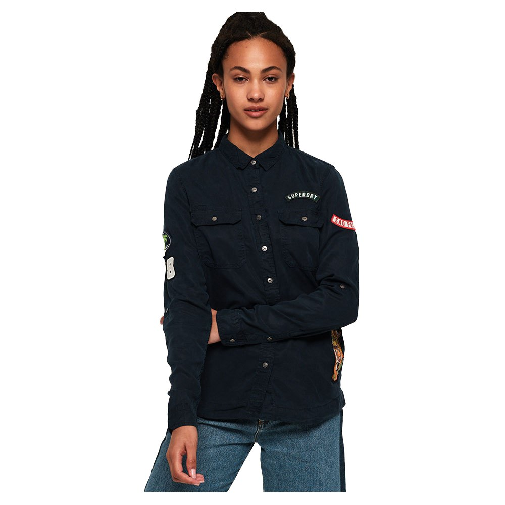 Military Shirt Superdry Pay With Paypal For Sale Outlet Shop Offer DsOTyEWV