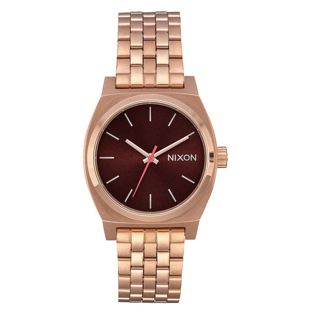 Relógios Nixon Medium Time Teller One Size All Rose Gold / Brown