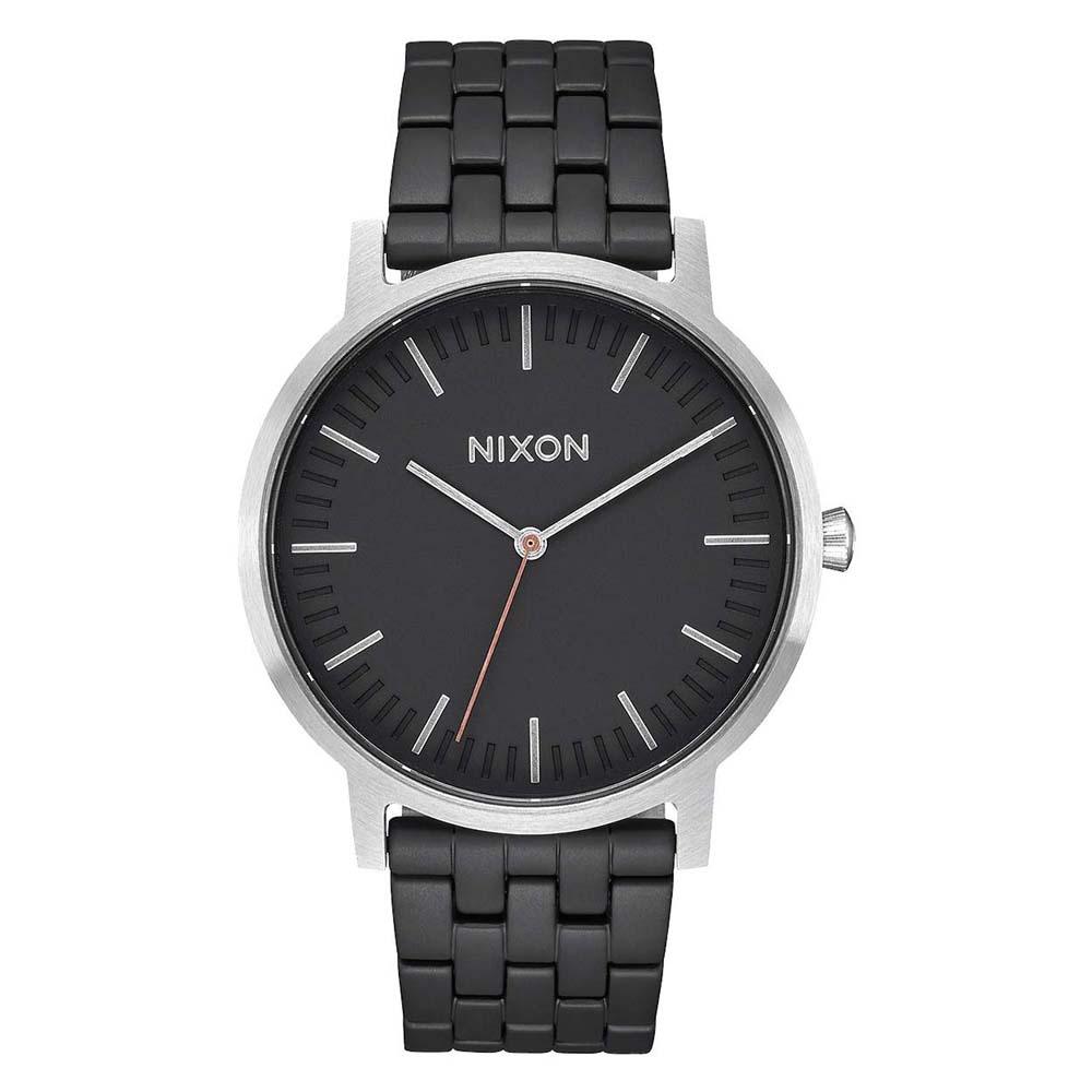 Relógios Nixon Porter One Size Black / Steel