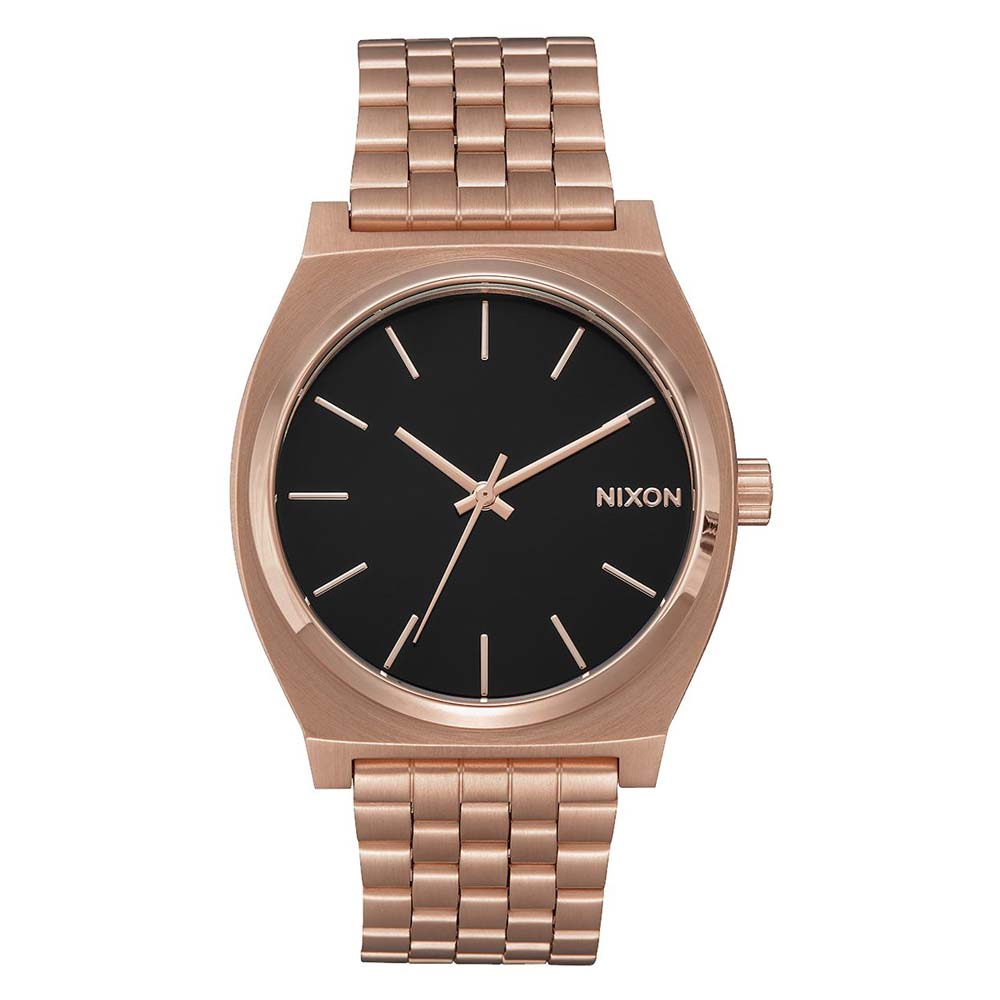 Relógios Nixon Time Teller One Size All Rose Gold / Black Sunray