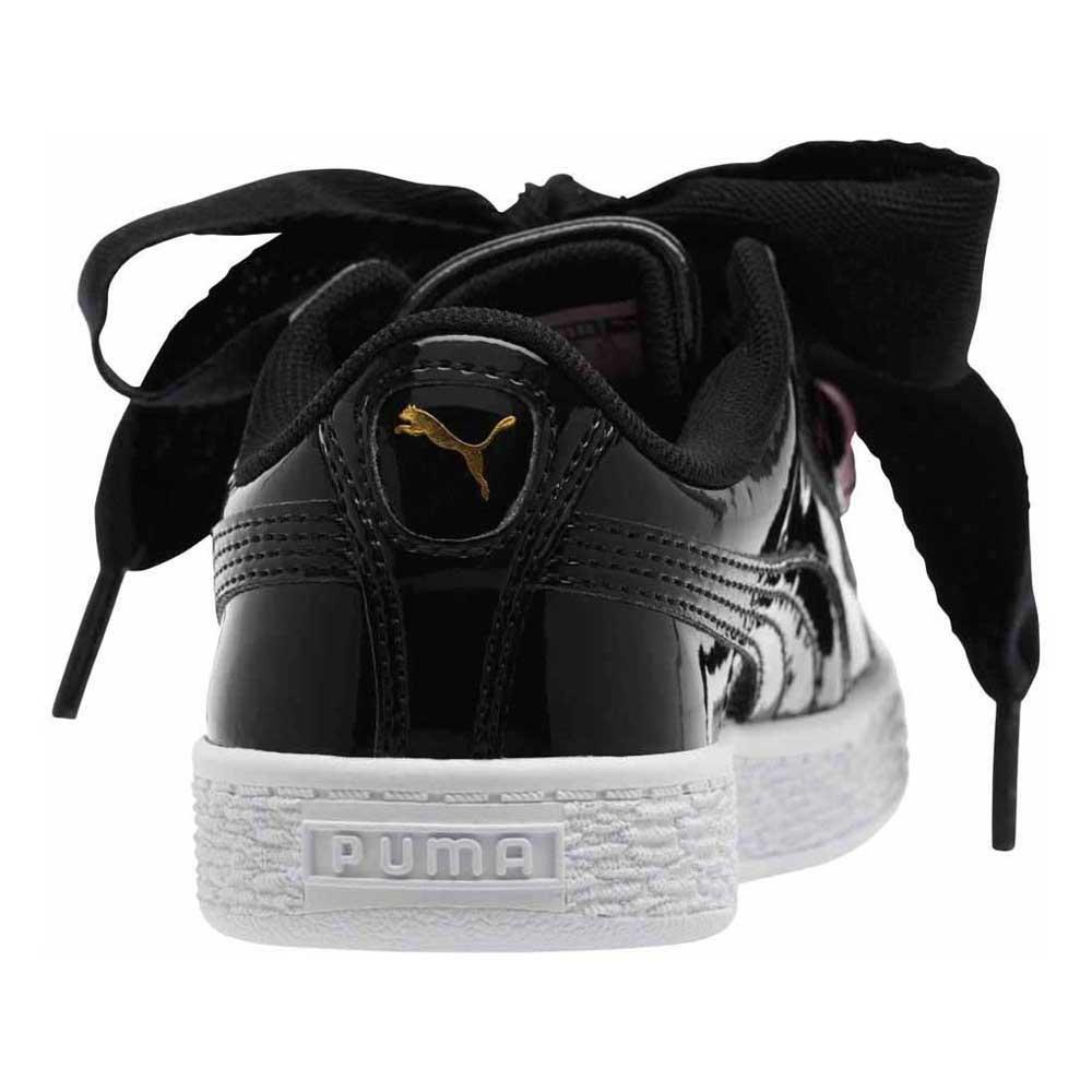 b1b673d41534 Puma Basket Heart Patent PS Black buy and offers on Dressinn