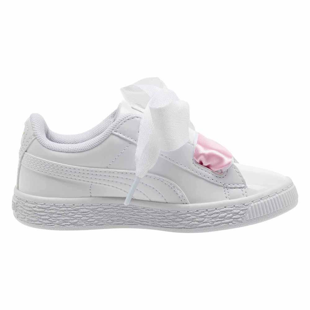 puma heart basket baby