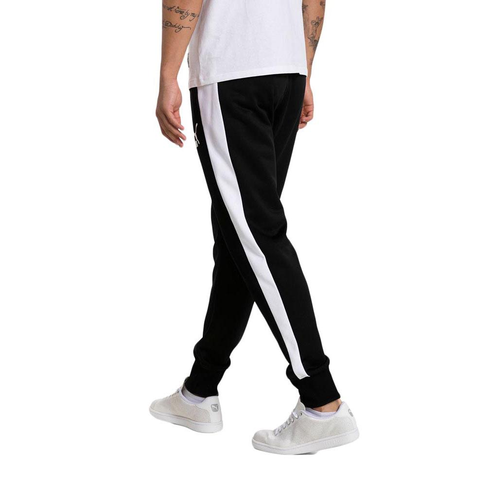 9e00b50ce019 Puma Archive T7 Track Pants Black buy and offers on Dressinn