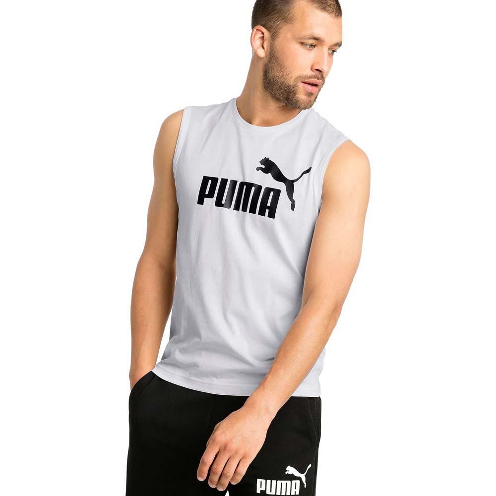 PUMA Mens Essential No.1 Sleeveless Tee Shirt