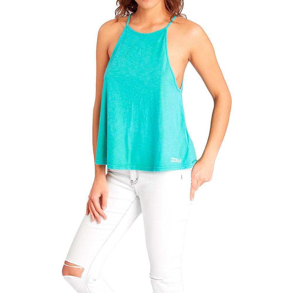 BILLABONG Womenss Essential Tank Point T-Shirt