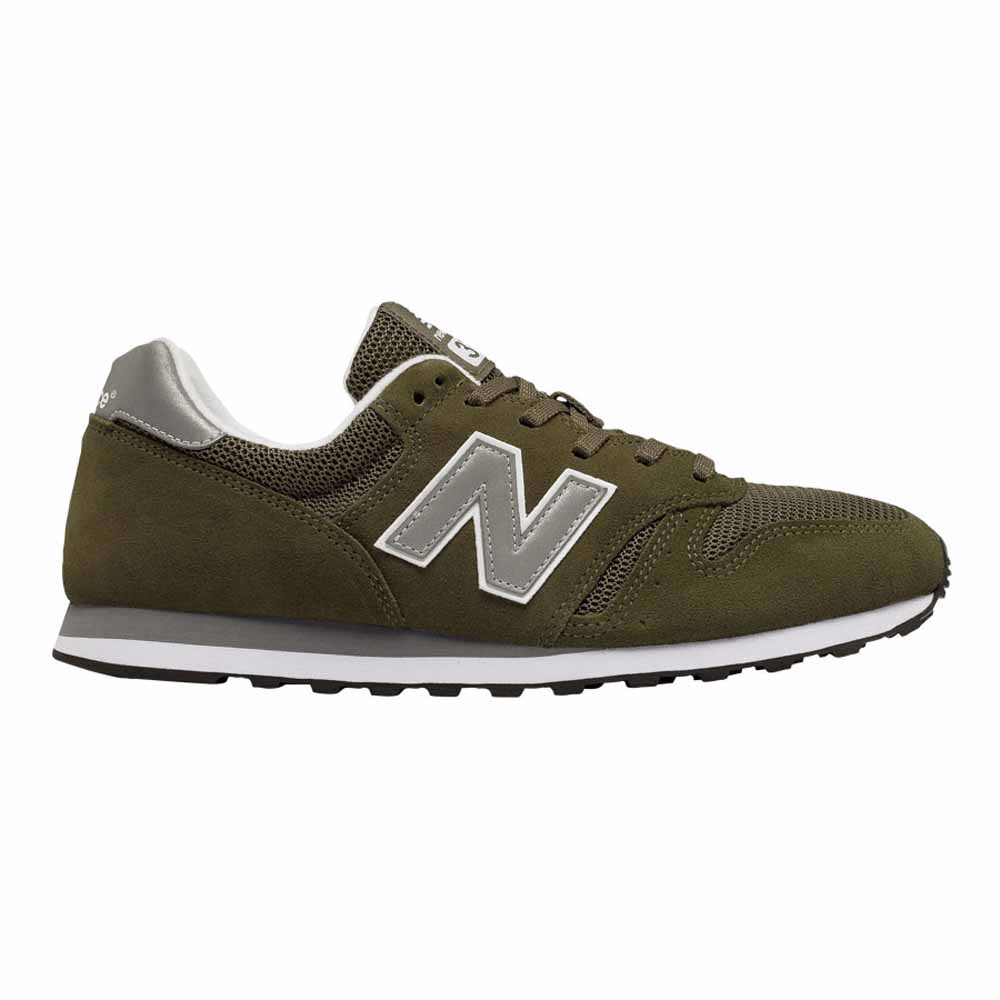New Balance 373 Modern Classics Shoes - Olive/Silver