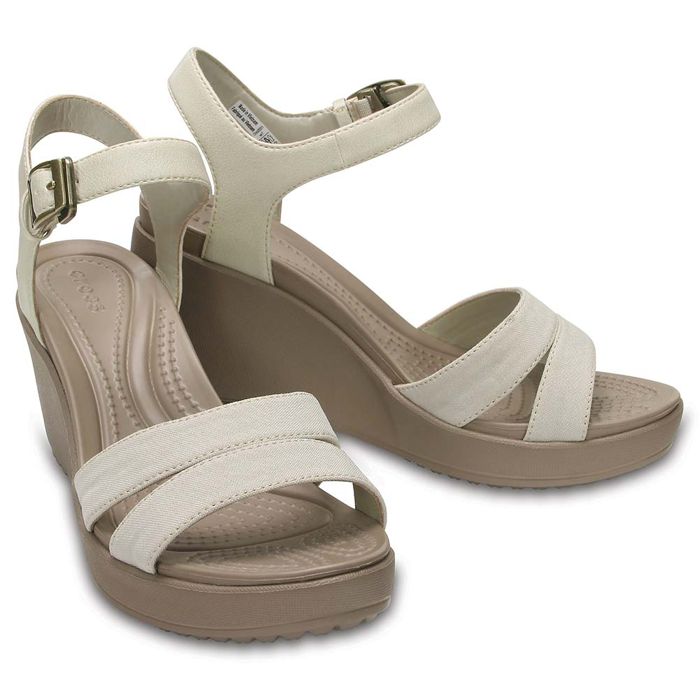 a28d4790423ec Crocs Leigh II Ankle Strap Wedge buy and offers on Dressinn