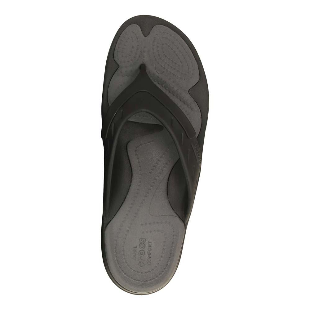 0b68f00b12f46e Crocs MODI Sport Flip Black buy and offers on Dressinn